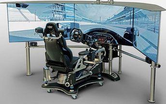 Zážitek na automobilovém simulátoru VRX Imotion