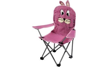 Regatta Animal Kids Chair Rabbit (Pink)