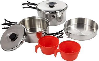 Regatta Compact Steel Cook Set Silver