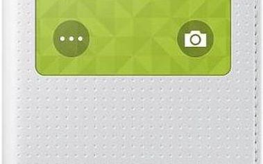 Pouzdro na mobil flipové Samsung S-View pro Galaxy S5 mini (EF-CG800BH) (EF-CG800BHEGWW) bílé