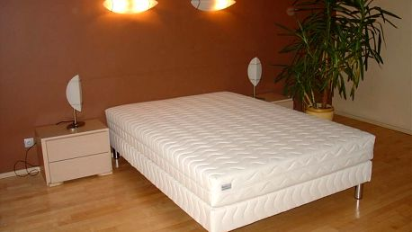 Čalouněná postel LUX + matrace + rošt, 90 x 200 cm