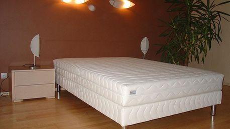 Čalouněná postel LUX + matrace + rošt, 180 x 200 cm