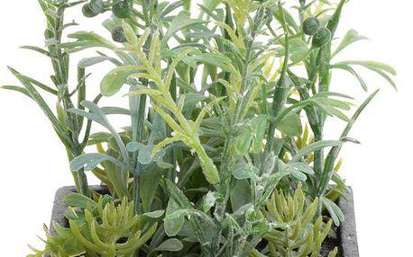 Umělá květina v květináči Herbs