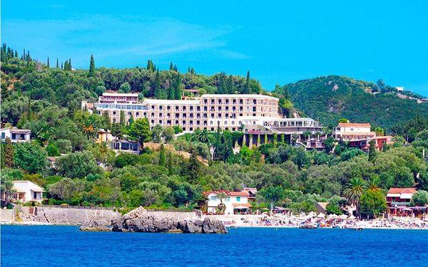 Řecko, Korfu, letecky na 8 dní s polopenzí