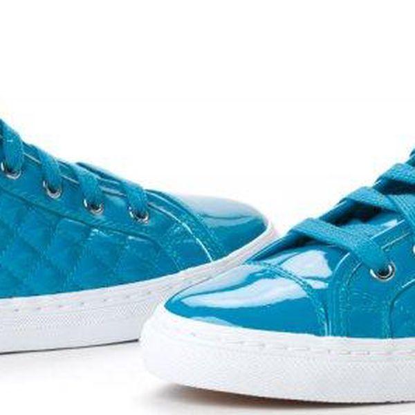 Geox dámské kotníčkové tenisky 40 modrá