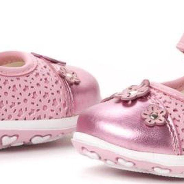 Geox dívčí sandály 20 růžová