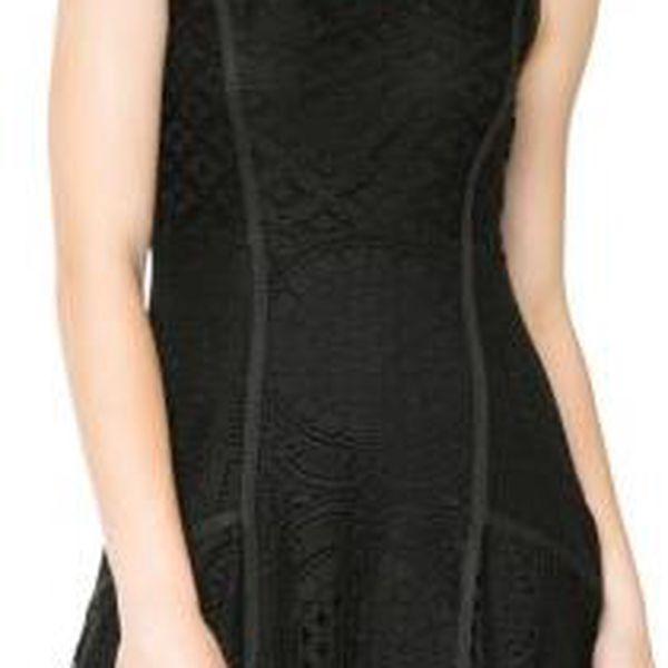 Desigual dámské krajkované šaty XS černá