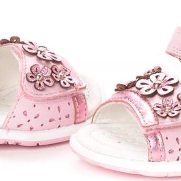 Geox dívčí sandály 27 růžová