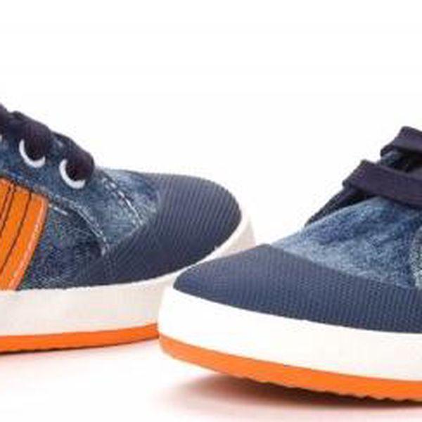 Geox chlapecké tenisky 38 modrá