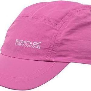 Dětská kšiltovka Regatta ZRKC105 MELKER II Cap Pretty Pink 7-10yrs