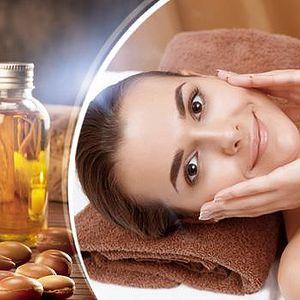 60minutové luxusní kosmetické ošetření s masáží obličeje a dekoltu arganovým olejem na Praze 5!