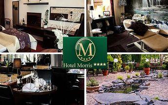 Romantický pobyt pro dva na 3 dny v Parkhotelu Moris**** s polopenzí a procedurami