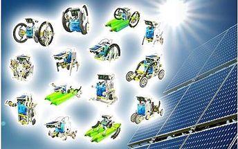 Solární stavebnice SolarBot 14v1 za neskutečně nízkou cenu 199 Kč! Stavebnice využívá solární energii a hraní s ní jen tak neomrzí!