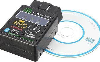 Bluetooth autodiagnostika HHOBD ELM327 - dodání do 2 dnů