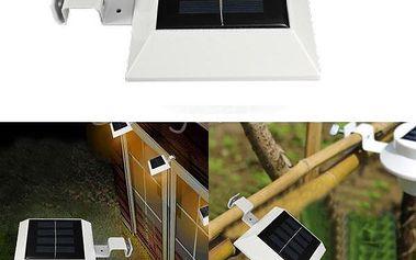 4 LED solární nástěnná lampa