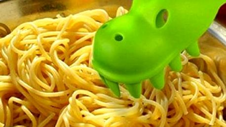 Naběračka na špagety Dinosaurus