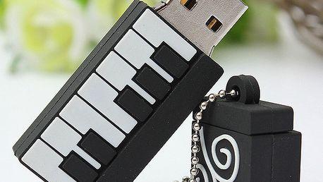 8GB Flashdisk - piano - dodání do 2 dnů