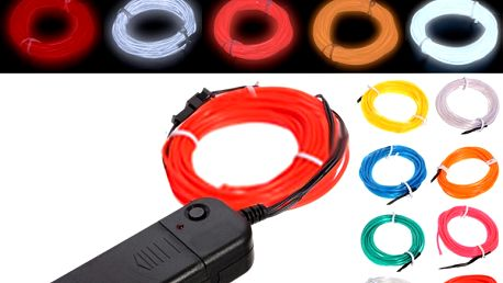 Svítící dekorativní pásek - 10 barev světla