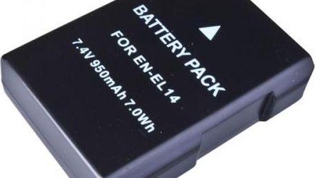 Baterie Avacom pro Nikon EN-EL14/EN-EL14a/EN-EL14e Li-ion 7.4V 950mAh (DINI-EL14-549N2)