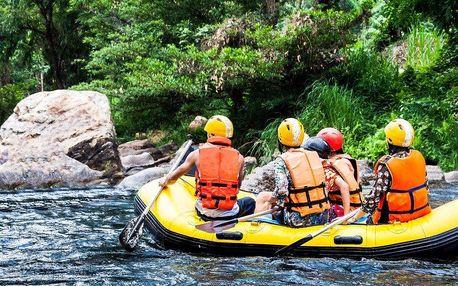 Dobrodružství na řece: Zapůjčení raftu pro 6