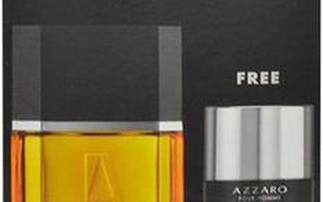 Azzaro Pour Homme EDT dárková sada M - edt 100ml + 75ml deostick