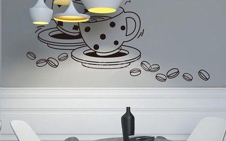 Samolepka na zeď - I Love Coffee