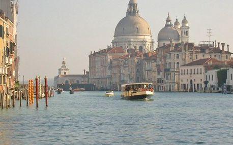 Benátky - jednodenní romantika, Benátky, Itálie, autobusem, bez stravy