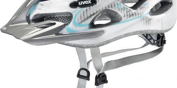 Cyklistická helma Uvex Onyx Lady White-Light Blue (52-57 cm)