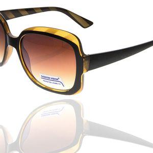Sluneční brýle klasické dámské hnědé