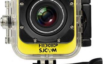 SJCAM M10 CUBE sportovní kamera - žlutá