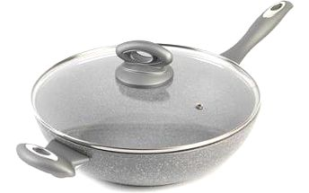 Salter Marble Collection 28cm wok, mramorová wok pánev; bw02772g