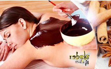Čokoládová nebo skořicová masáž + zábal! 75 minut relaxu ve Studiu Rebels ve Stodolní ulici - Ostrava!
