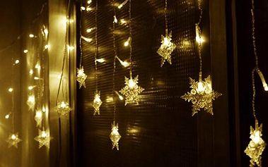 Vánoční osvětlení - vločky