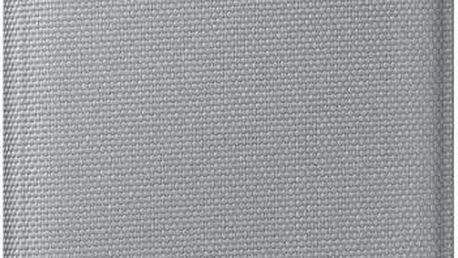 Samsung EF WG920BS Flip Fabric Galaxy S6, Silver