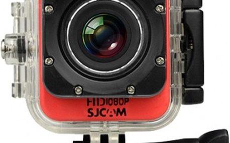 SJCAM M10 CUBE sportovní kamera - červená