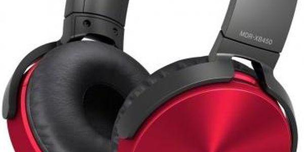 Sony MDR-XB450APR (Red)