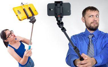 Fotografický selfie set s dálkovým ovladačem spouště pro dokonalé fotky