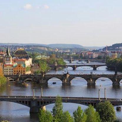 Letní Praha i víkendy Hotel Pawlovnia*** 3 dny pro 2 se snídaněmi, bazénem a večeří