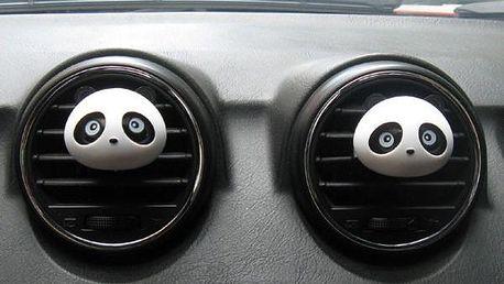 Osvěžovač vzduchu do auta v podobě pandy - poštovné zdarma