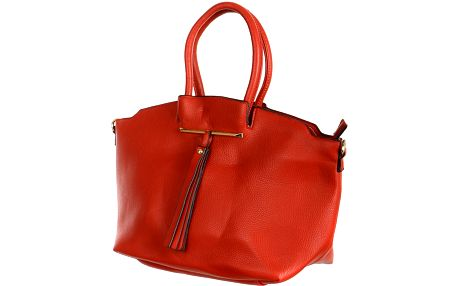 Dámská společenská kabelka červená