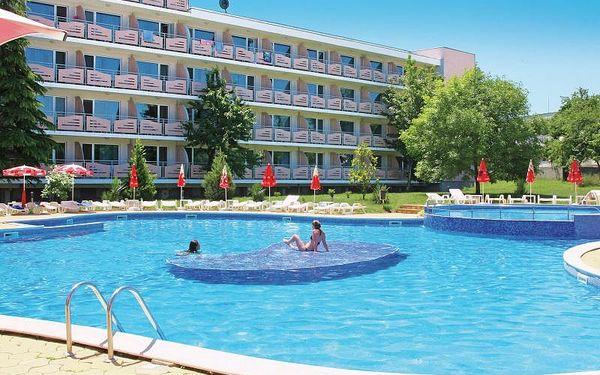 Bulharsko - Primorsko na 8 až 12 dní, polopenze nebo snídaně s dopravou letecky z Prahy nebo letecky z Ostravy 250 m od pláže