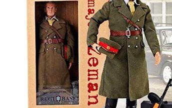 Figurka Majora Zemana + DVD s dily serialu