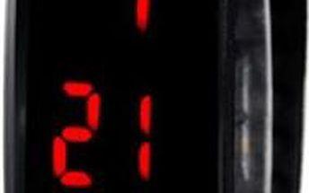LED hodinky s TPU páskem - skladovka - poštovné zdarma