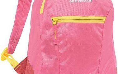 Dětský batoh Regatta Jaxon EKO15 Daypack růžový uni
