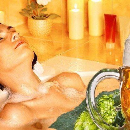 Pohoda s pivní lázní, masáží i polopenzí