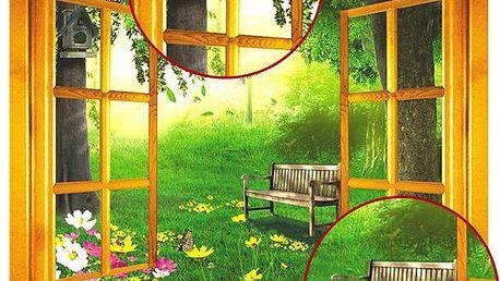 3D samolepka - okno do přírody - skladovka - poštovné zdarma