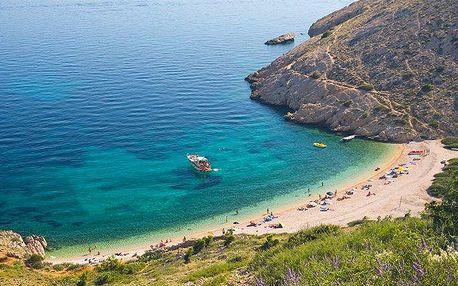 8denní dovolená v letovisku Baška Voda v Chorvatsku pro 1