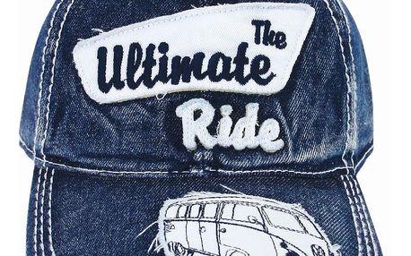 Modrá baseballová čepice The Ultimate Ride