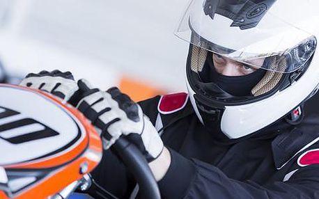 Až 34% sleva na jízdy v motokárách
