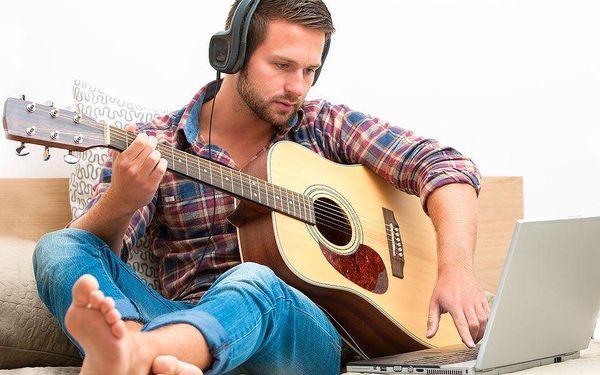 Online kurz hry na kytaru nebo bicí